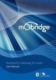 Bluetooth Gateway for Audi - mObridge