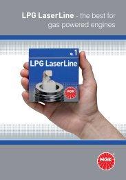 LPG LaserLine - the best for - NGK Spark Plugs UK