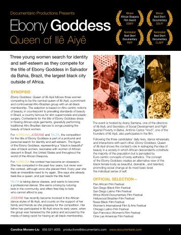 Ebony Goddess - Third World Newsreel