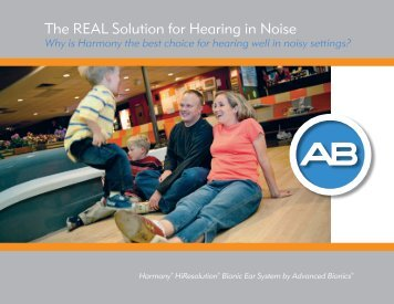 the reAL Solution for Hearing in noise - Advanced Bionics