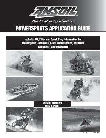 G2135 Powersports Application Guide - AMSOIL Synthetic Motor ...