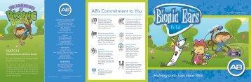 Bionic Ears for Kids brochure - Advanced Bionics