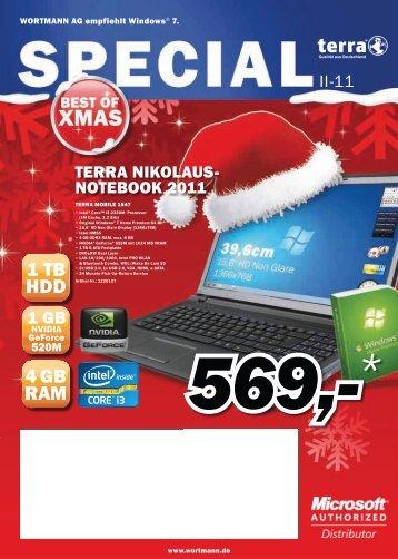 4 GB RAM 1 TB HDD