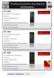 HP EliteBook 8770w - Widemann Systeme GmbH