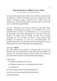 Den Beitrag finden Sie hier. - EXirius IT Dienstleistungen GmbH
