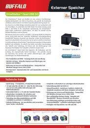 Job 974-HD-QLU3-DS Quad USB 3.0-Datasheet(DE).indd - Buffalo ...