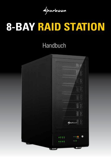 8-BAY RAID STATION - Sharkoon