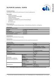 OLI-PUR 2K Lackfarbe N 58752 DECKLACK - Oli Lacke GmbH