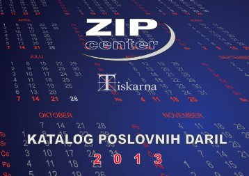 KATALOG POSLOVNIH DARIL - ZIP Center doo