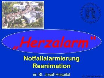 Notfallalarmierung Reanimation - Stiftung Paula Wittenberg