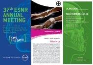 37th ESNR ANNuAl MEEtiNg - Basiskurs Neuroradiologie
