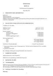 Fachinformation REPEVAX Fachinformation für Fertigspritzen Stand ...