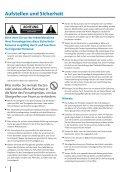 Bedienungsanleitung - Schuss Home Electronic - Seite 4