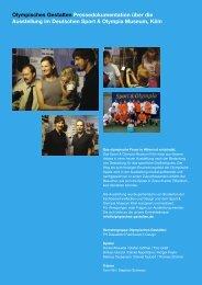 040911 pressedokumentation.indd - Olympisches Gestalten