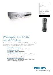 DVP3350V/02 Philips DVD-Player/Videorecorder