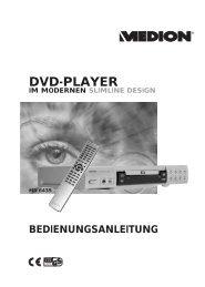 MD 6435 - DVD Player - medion