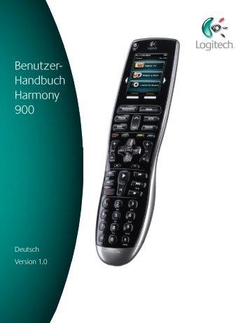 Benutzer- Handbuch Benutzer- Handbuch Harmony 900 - Logitech