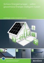 Schüco Energiemanager – selbst gewonnene Energie intelligent ...