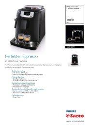 HD8751/11 Philips Kaffeevollautomaten