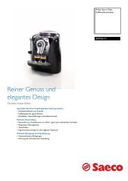 RI9755/11 Saeco Kaffeevollautomaten - Philips