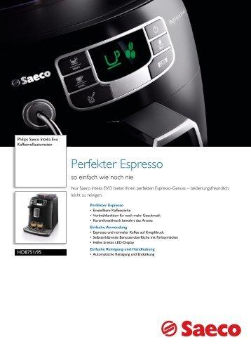 HD8751/95 Saeco Kaffeevollautomaten - Philips