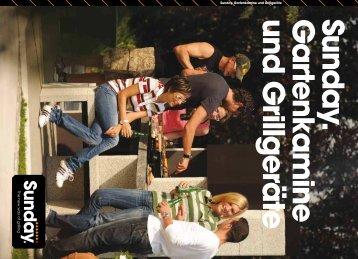 Sunday Grill Kamin - Gardelino