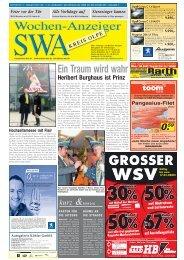 Ausgabe E, Olpe, (7.88 MB) - Siegerländer Wochen-Anzeiger