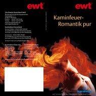 Kaminfeuer- Romantik pur - EWT
