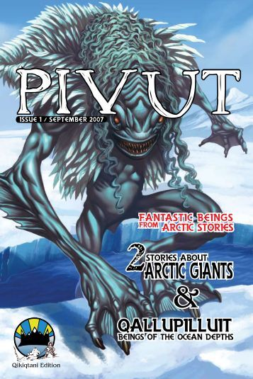 the first issue of Pivut! - Qikiqtani Inuit Association