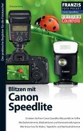 Blitzen mit Canon Speedlite - Leseprobe - Brenner