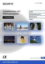 Digitalkamera mit Wechselobjektiv