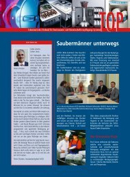 Saubermänner unterwegs (SVGG TOP 02/2006)