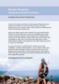 Spirituelle Kriegerin - Hawaiian spiritual healing academy - Seite 2