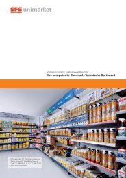 Das kompetente Chemisch-Technische Sortiment - SFS unimarket AG