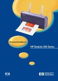 HP DeskJet 350 Series