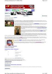 Page 1 of 3 Weblog und Podcast bei TV SPIELFILM 26.11.2007 http ...