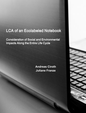 LCA of an Ecolabeled Notebook - GreenDeltaTC