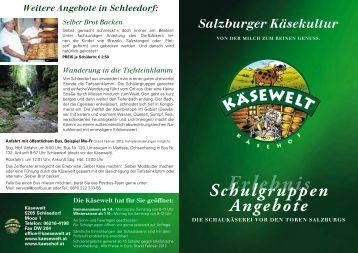 Selber Brot Backen - Salzburger Käsewelt