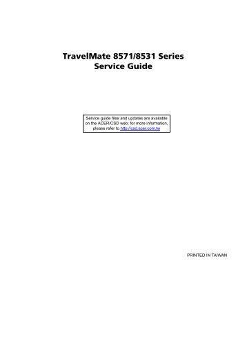 travelmate 6492 series service guide tim id au rh yumpu com TravelMate Suitcase Smart TravelMate Luggage