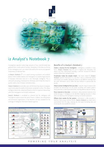 Analyst's Notebook 8 Release Notes - vmware.com