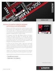 ssd v+200 series store memory silent - Kingston Technology