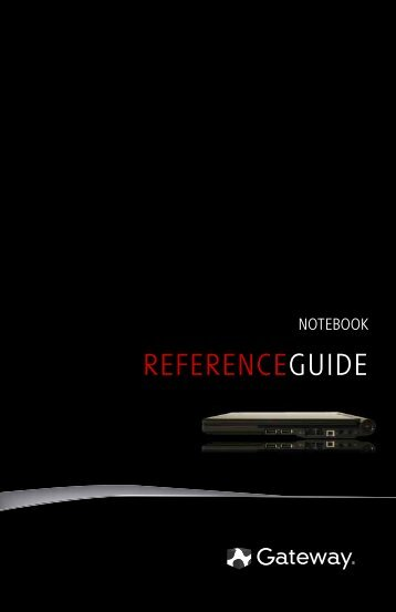 8512719 - Gateway Notebook Reference Guide R2 for Windows