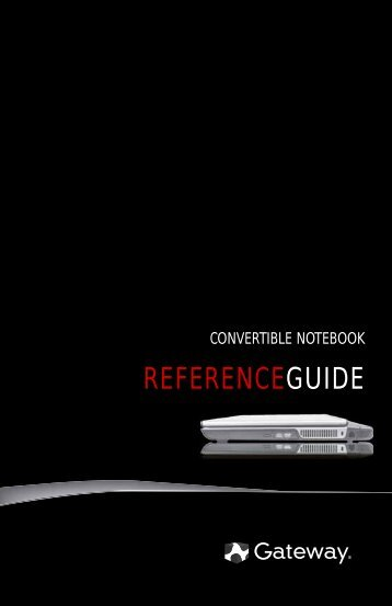 8512714 - Gateway Notebook Reference Guide R5 for Windows
