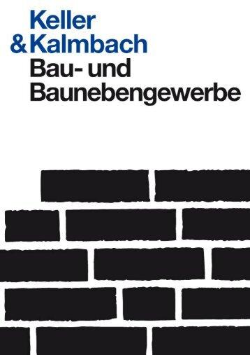 Produktübersicht Dach - Keller & Kalmbach GmbH