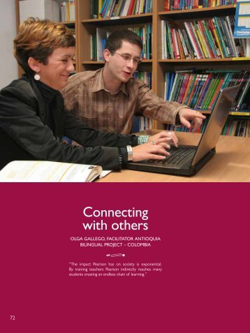 Connecting with others - Pearson Longman