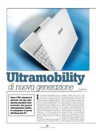 Ultramobility di nuova generazione - PC Professionale