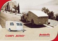 "CAMPY ""RetRo"" - Dethleffs"