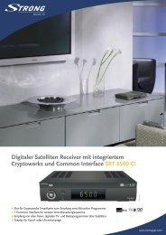 Deutsch - STRONG Digital TV