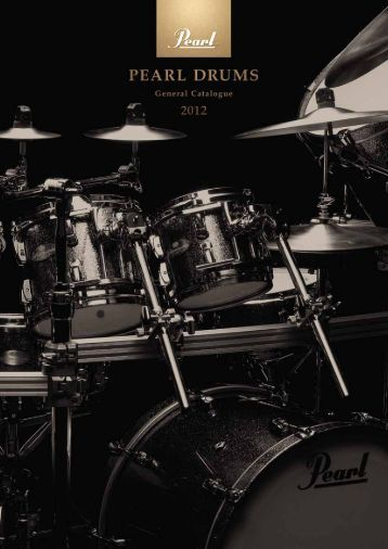 Support - 2012 General Catalogue - Pearl Music Europe