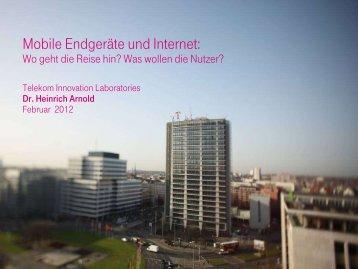 Vortrag 2012: Heinrich Arnold: Mobile Endgeräte und ... - BMELV
